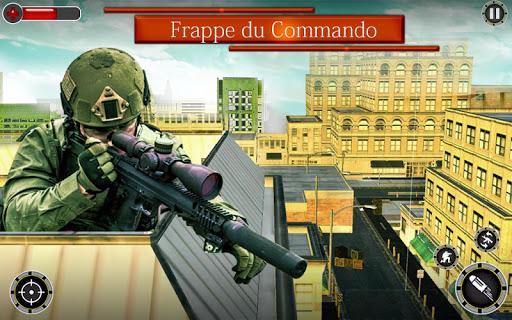 Code Triche Tireur d'u00e9lite 3D Tueur u00e0 gages Tournage Jeux APK MOD screenshots 1