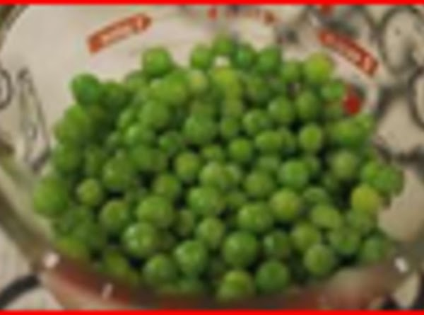 The last 3 minutes pour frozen pea's in with boiling potatoes. ; drain and...
