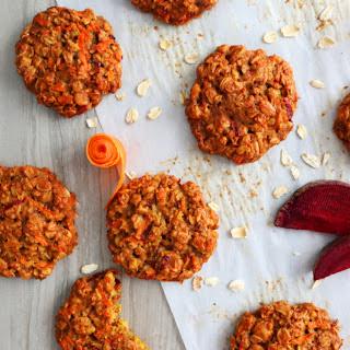 Carrot-Beet-Oatmeal Cookies