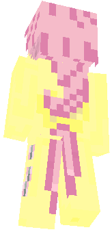 Fluttershy is a female Pegasus pony and one of the main characters of My Little Pony Friendship is Magic. She lives in a small cottage near the Everfree Forest and takes care of animals, the most prominent of her charges being Angel the bunny. She represents the element of kindness.