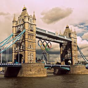Tower Bridge by Cristiana Chivarria - Buildings & Architecture Bridges & Suspended Structures ( thames river, london, tower bridge, pwcbridges )