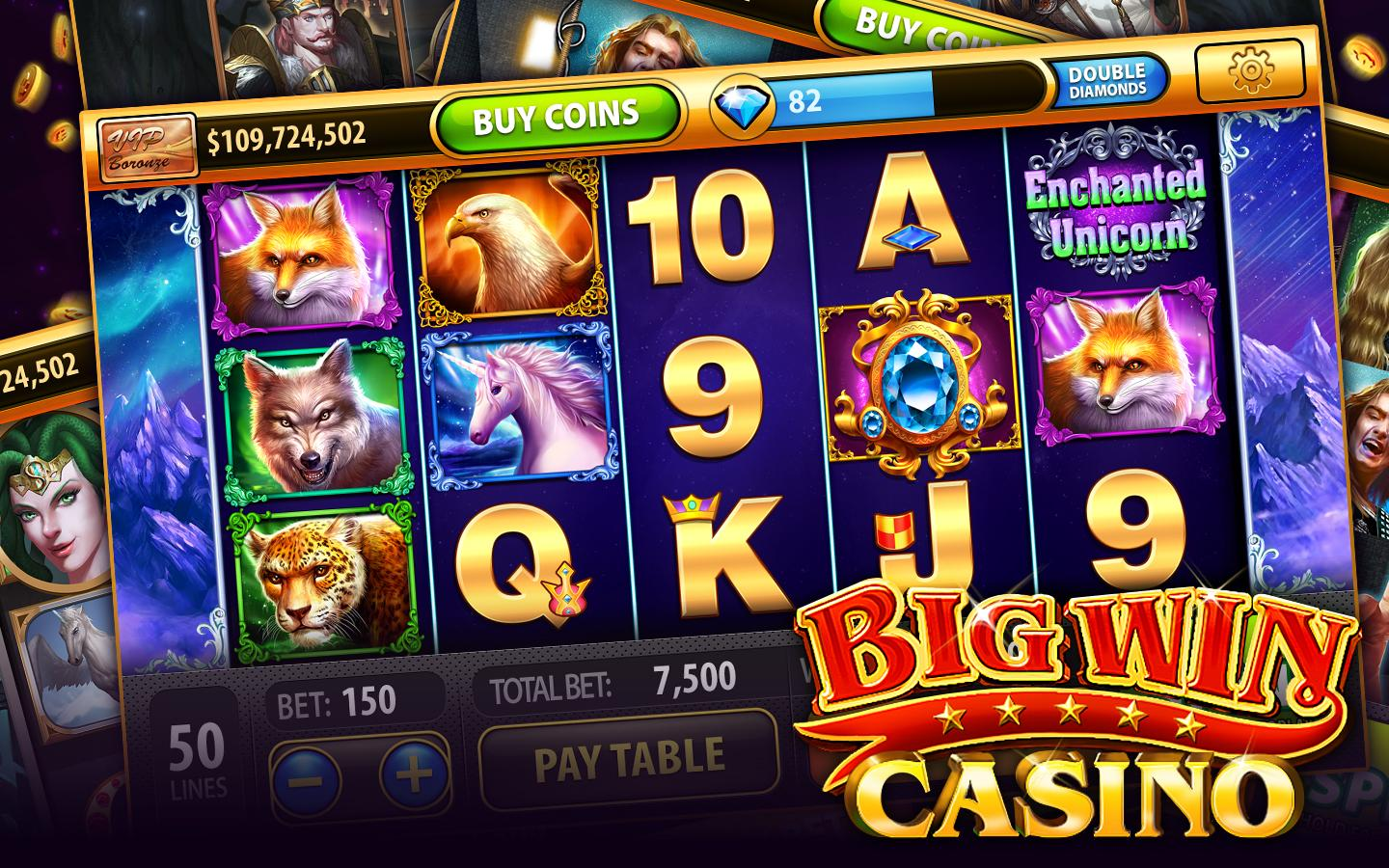big win casino games