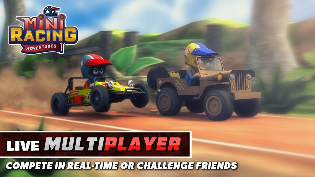 Mini Racing Adventures v1.1 Mod APK