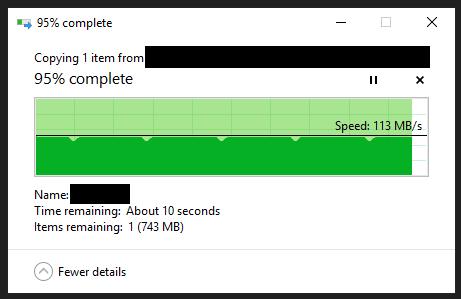 ubuntu] Shared drive over Samba, error transferring large files