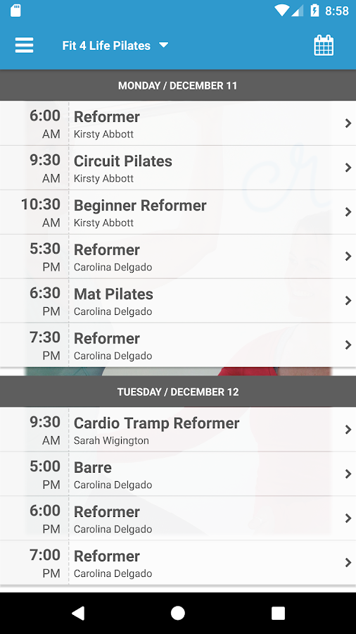 Fit 4 Life Pilates- screenshot