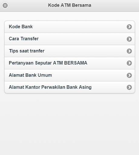 Download Kode Bank ATM Bersama for PC