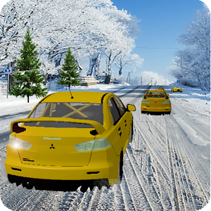 Snow Taxi Driver Racing 2016 for PC and MAC