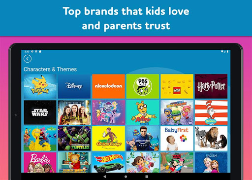 Amazon FreeTime Unlimited: Kids Shows, Games, More 2.0.0.203376 screenshots 12