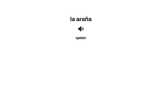 Spanish Vocab Extension