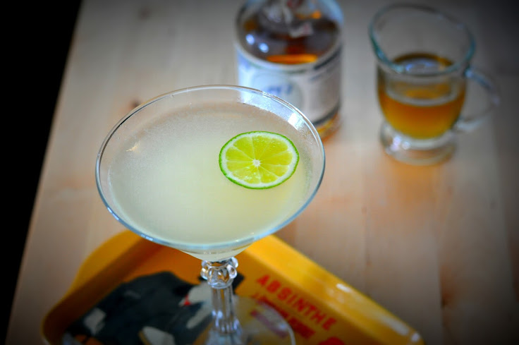 The Green Faeries Gimlet served at Revival Bar + Grill.  Photo: Drinkapotamus.