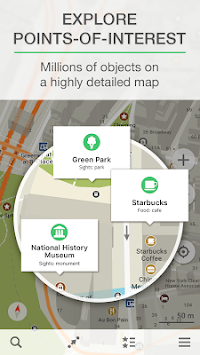 MAPS.ME — Offline Kort APK screenshot thumbnail 2