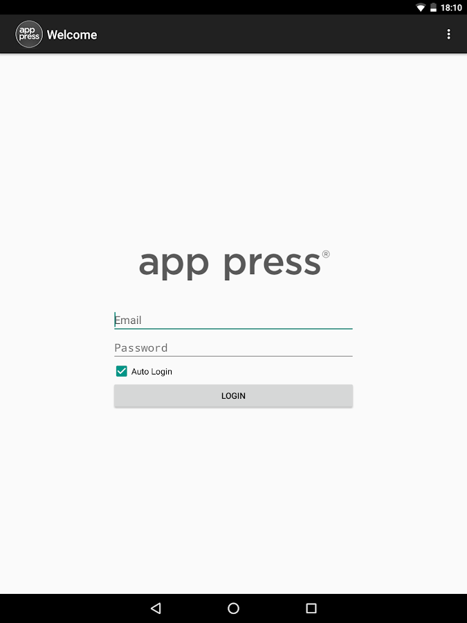 App Press® Now- screenshot
