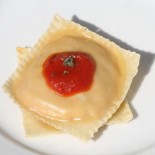 Easy Baked Pumpkin Ravioli