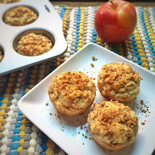 Gluten Free Apple Oat Muffins