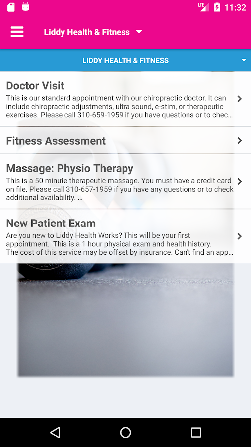 Liddy Health & Fitness- screenshot