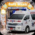 Real Ambulance Truck Wash Simulator 2018 icon