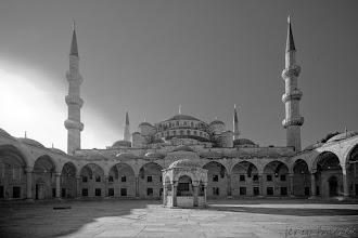 Photo: Ddziedziniec Błękitnego Meczetu