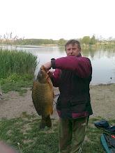 Photo: Fehér Endre, 2011.05.??, 8.5 kilós ponty