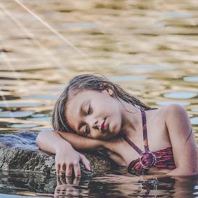 Resting  by Stephanie Halley - Babies & Children Child Portraits