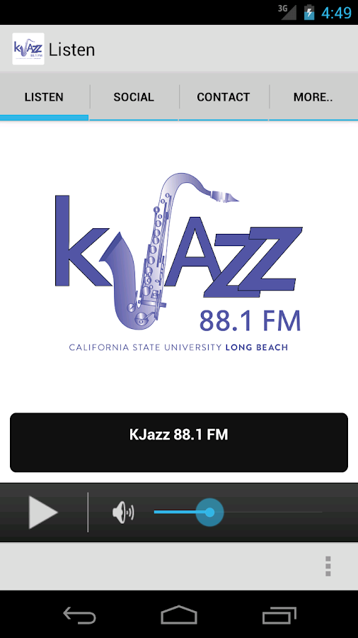 KJazz 88.1- screenshot