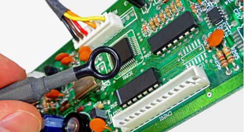 Ein Bild, das Elektronik, Schaltkreis enthält.  Automatisch generierte Beschreibung