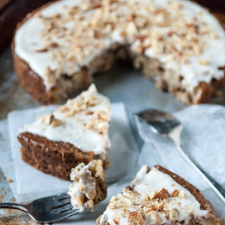 Apple Spice Cake with Coconut Cream Frosting