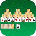 TriPeaks Solitaire. Classic card game. icon