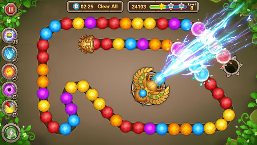 Jungle Marble Blast 1.1.1 screenshots 1