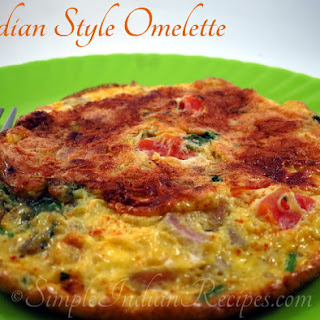Indian Style Omelette