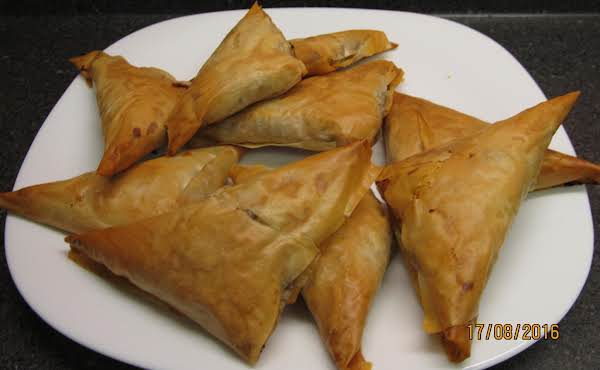 Greek Meat-filled Triangles
