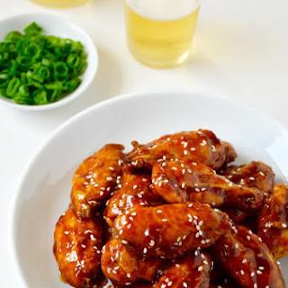 Crispy Baked Teriyaki Chicken Wings