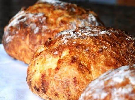 No Knead Crusty Bread