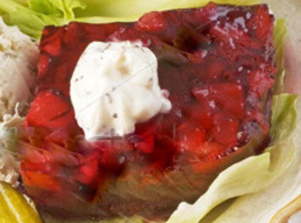 how to make cranberry jello salad