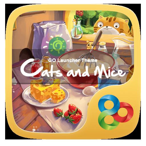 Cats & Mice GO Launcher Theme