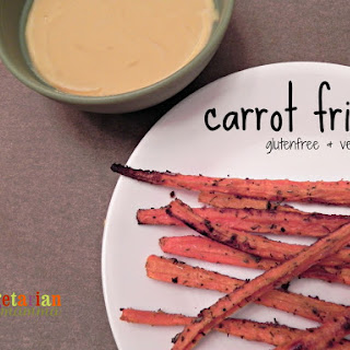 Carrot Fries – #glutenfree #vegan