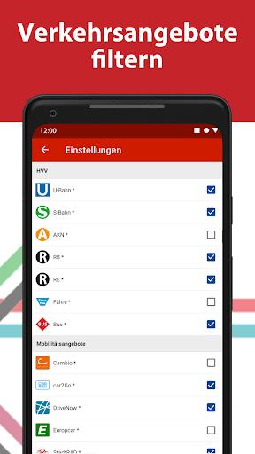 HVV - Navigation & tickets for Hamburg 4.2.6 (47) screenshots 6