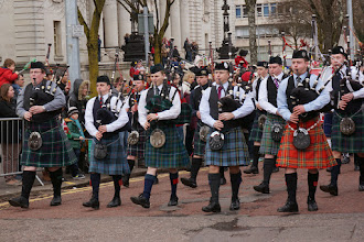Photo: Welsh pipers