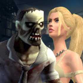 Zombie Vs Amazon Warrior - Frp War Game