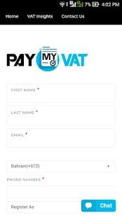 PayMyVAT - náhled