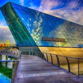 Louis Vuitton Singapore by Jashper Delloroso - Buildings & Architecture Other Exteriors ( louis vuitton singapore, louis vuitton, hdr, lv, sg, singapore,  )