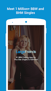 BBW Dating for Curvy Singles- LargeFriends- screenshot thumbnail