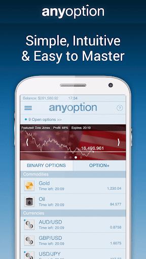玩財經App 二元期权 anyoption免費 APP試玩