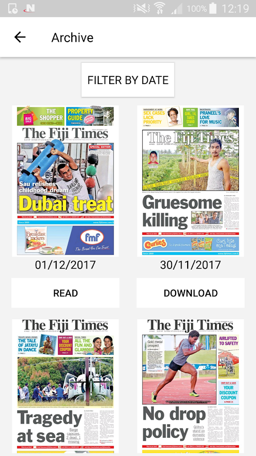 The Fiji Times- screenshot