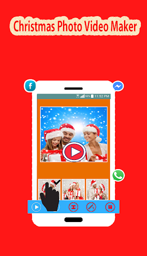 圣诞照片视频制作