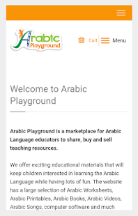 Arabic Playground- screenshot thumbnail