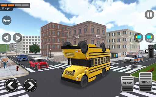 Super High School Bus Driving Simulator 3D - 2020 2.2 screenshots 10