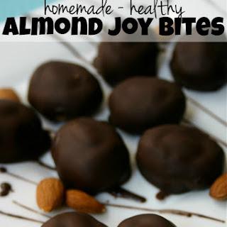 Healthy Homemade Almond Joy Bites