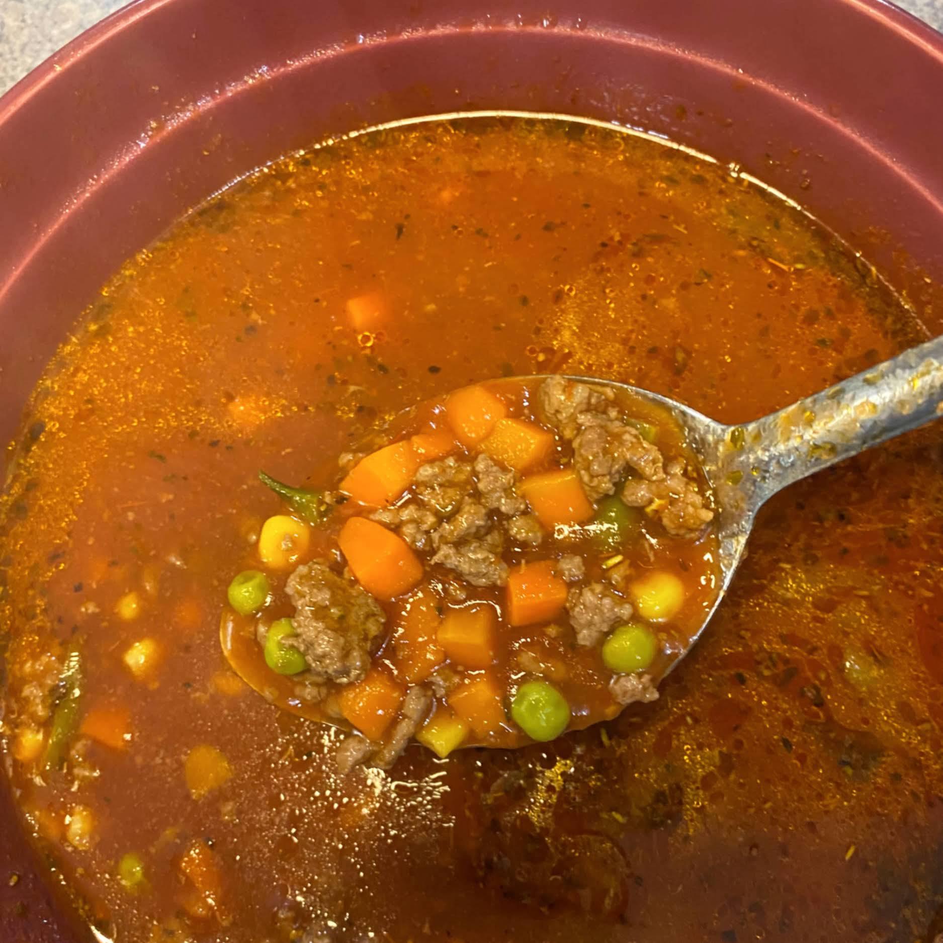 5-Ingredient Hamburger Soup