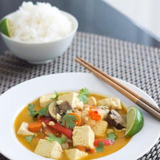 Thai Yellow Curry with Tofu.