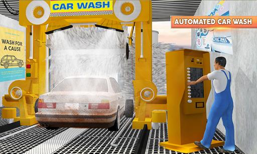 Gas Station & Car Service Mechanic Tow Truck Games screenshots 2